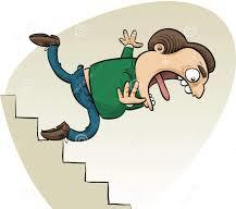 Falling Down Stairs JPG